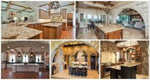 12 large stone archway for elegant kitchen design
