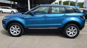 land rover evoque blue land rover range rover evoque 2 2 sd4 pure tech pack