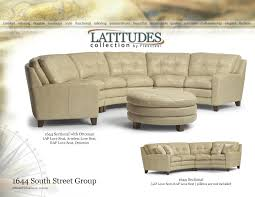 Flexsteel Reclining Loveseat Flexsteel Latitudes 1644 South Street Sectional Group