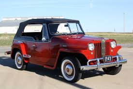 custom willys jeepster 1949 willys overland jeepster vj3 2 door phaeton nicely restored