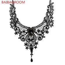 choker necklace wedding vintage images New elegant handmade gothic vintage lace beads collar choker jpg