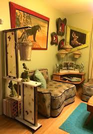 Retro 60s Bedroom Ideas Carlo Of Hollywood Paintings Moss Room Divider Heywood Wakefield