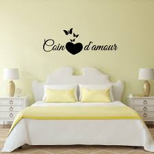 sticker citation chambre coin d amour stickers citations