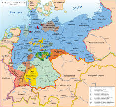 map of germany with states and capitals list of historic states of germany