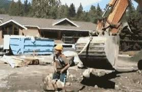 Bulldozer Meme - redneck county fair meme funny goblin