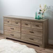 amazon com south shore versa 6 drawer double dresser weathered