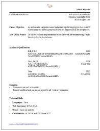 Computer Engineering Resume Examples by Downloadable Resume Format Sample Of Resume Format For Job