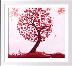 wedding gift kits aliexpress buy tree needlework diamond mosaic painting