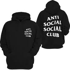 anti social social club mind games hooded sweatshirt sweatshirt