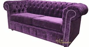 Purple Velvet Chesterfield Sofa by 2 Seater Fabric Chesterfield Sofa Pathmapp Com