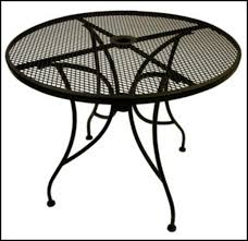 Wrought Iron Patio Coffee Table Round Wrought Iron Patio Coffee Table Patios Home Decorating