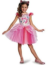 My Little Pony Halloween Costume Amazon Com Disguise Hasbro U0027s My Little Pony Pinkie Pie Tutu