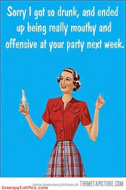 Old Fashioned Memes - happy girl apologizes funny vintage clipart picture really funny