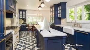 kitchen ideas with blue cabinets 2018 blue kitchen decoration ideas