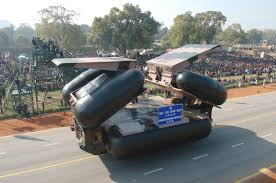 amphibious vehicle amphibious floating bridge www bharat rakshak com