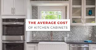 how much does it cost to kitchen cabinets painted white the average cost of kitchen cabinets kitchen cabinet