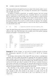 1 assembly language