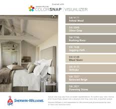 Sherwin Williams Poised Taupe Sherwin Williams Felted Wool Sw 9171 Silver Gray Sw 0049