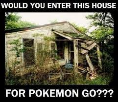 Haunted House Meme - obviously there are probably ghost types in there pokémemes
