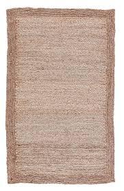 Jute Area Rugs Jaipur Rugs Naturals Solid Pattern Ivory White Jute Area Rug Nat03