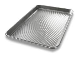 10x15 jelly roll pan usa pan patriot pan bakeware aluminized steel jelly roll pan if