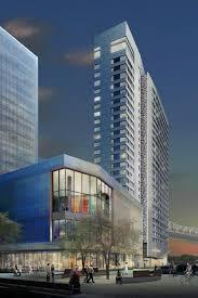 porsche design tower construction cornell tech breaks ground on world u0027s first passive house