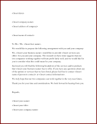 Business Letter Offer 18 unique letter template offering services pics complete letter