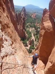 Rock Climbing Garden Of The Gods Rock Climbing Experience Review Of Ascent Mountain School