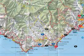 Map Of Positano Italy by Amalfi Coast Sorrento Peninsula Italy 1 40 000 Pocket Map