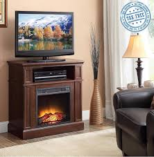 electric fireplace white cabinet large tall heater modern living