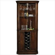 Small Bar Cabinet Furniture Howard Miller Piedmont Wine And Spirits Corner Home Bar Cabinet In