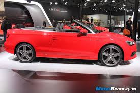 audi hatchback cars in india audi to launch a3 cabriolet in india by december 2014