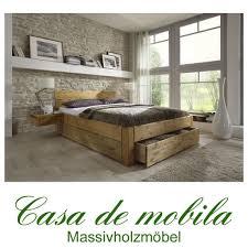 Schlafzimmerschrank Kiefer Gelaugt Ge T Massivholz Schubladenbett 160x200 Holzbett Bett Kiefer Massiv