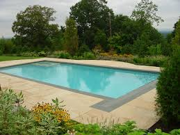 Landscape Patio Ideas Swimming Pool Landscaping Ideas Inground Pools Nj Design Pictures