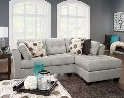 Chenille Sectional Sofa Designed2b Dez 2 Right Facing Textured Chenille Sectional