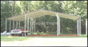 Small Metal Barns Farm Barns Carport Empire Steel Garages