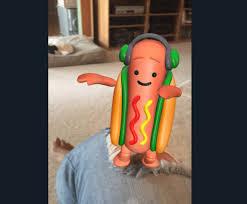 Hot Dog Meme - snapchat hot dog filter gone popular filter removed already