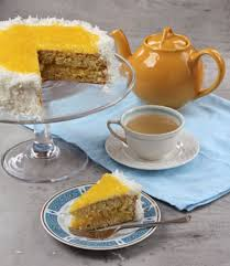 a pineapple sponge cake for mother u0027s day saveur