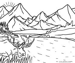 draw nature coloring pages 29 coloring pages adults