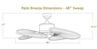 ceiling fan palm blade covers ceiling fans palm blade ceiling fan double ceiling fan with inch