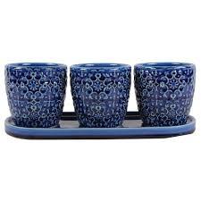 12 in dia multi color ceramic bella planter cr11183s 120b the