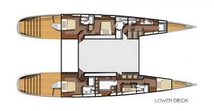 Catamaran Floor Plans Blue Coast 88 Catamaran By Mega Yacht Catamarans U2014 Luxury Yacht