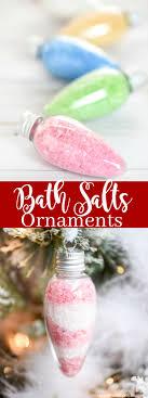 bath salts ornaments