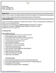 resume format for experienced accountant free download career page 9 scoop it