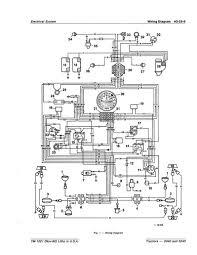 john deere 4230 wiring diagram john deere 4430 blower motor