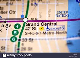 Grand Central Map Grand Central 42 St Stock Photos U0026 Grand Central 42 St Stock