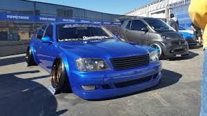 jdm lexus ls400 sema suit and tie edition safety stance