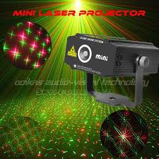 green laser light projector party lights decoration for dance mini laser projector lighting red