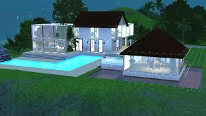 sims 3 cuisine sims 3 construction d une maison moderne et tropicale