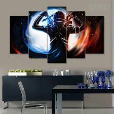 sword art online 5 piece canvas painting empire prints sword art online 5 piece canvas painting canvas teepeat